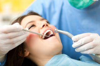 Our general dentist serving a client in Cannington